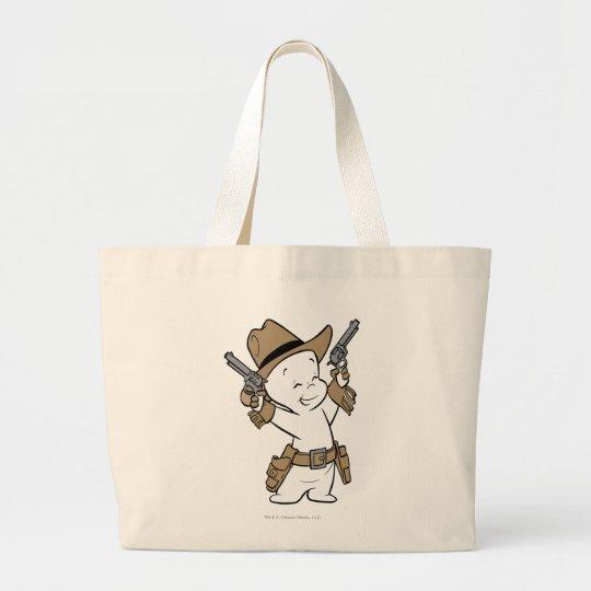 Casper Cowboy Large Tote Bag
