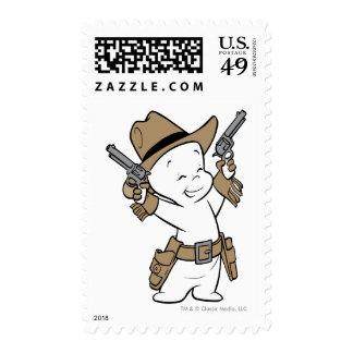 Casper Cowboy Postage Stamps