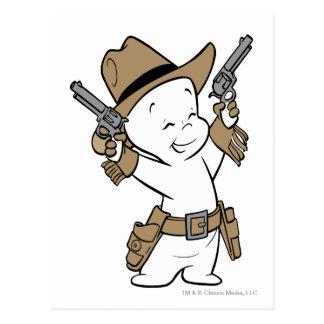 Casper Cowboy Postcard
