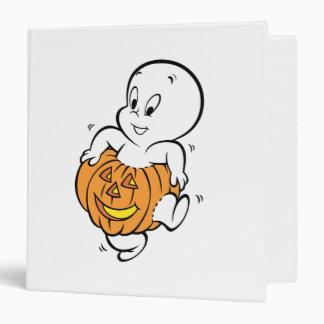 Casper Dancing in Pumpkin Binder