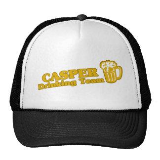 Casper Drinking Team tee shirts Trucker Hat