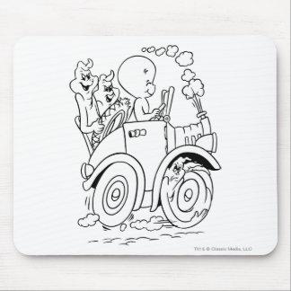 Casper Driving Mouse Pad
