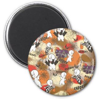 Casper EEEEEK! 2 Inch Round Magnet