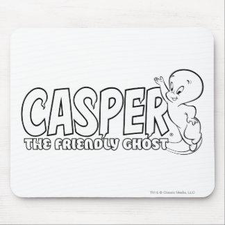 Casper el logotipo amistoso 2 del fantasma mousepad