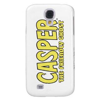 Casper el logotipo amistoso del amarillo del fanta funda para galaxy s4