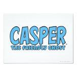 Casper el logotipo azul 1 del fantasma amistoso anuncio
