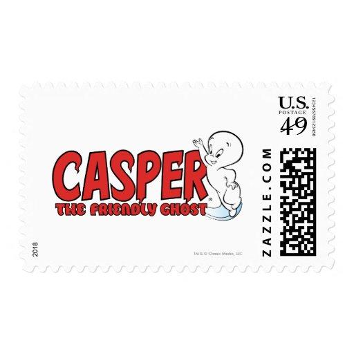 Casper el logotipo rojo 2 del fantasma amistoso envio