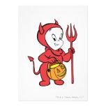 Casper en traje del diablo comunicado personal