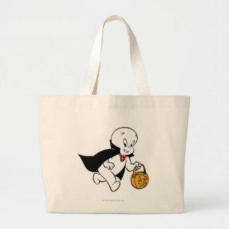 Casper en traje del vampiro bolsa tela grande