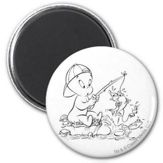 Casper Fishing 2 Inch Round Magnet