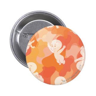 Casper Flying Collage Pinback Button