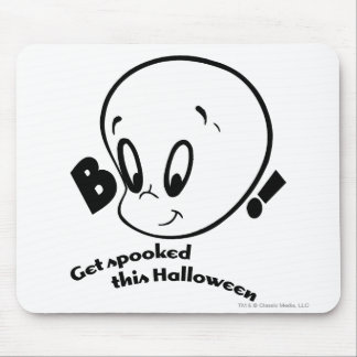 Casper Halloween Spooked Mouse Pad