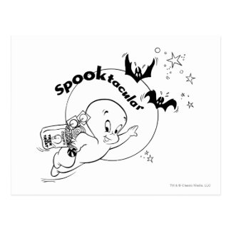 Casper Halloween Spooktacular Postcard