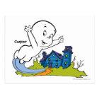 Casper Haunted House Postcard