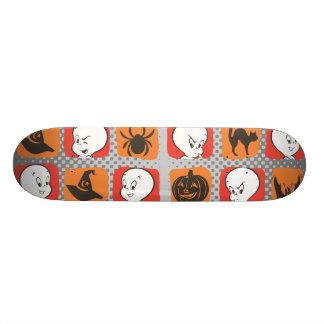 Casper Icon Pattern Skateboard Deck