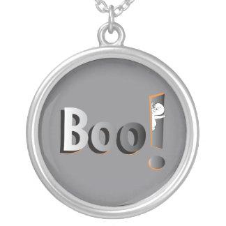 Casper in Boo! Silver Plated Necklace
