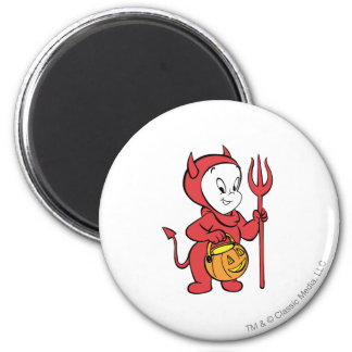 Casper in Devil Costume Magnet