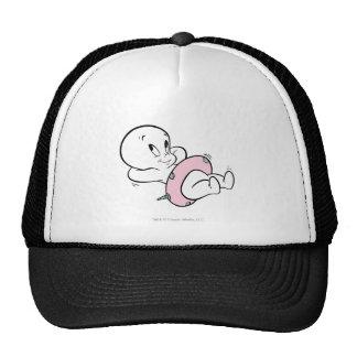 Casper in Inner Tube Trucker Hat