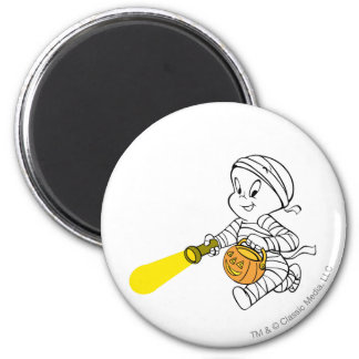Casper in Mummy Costume Magnet