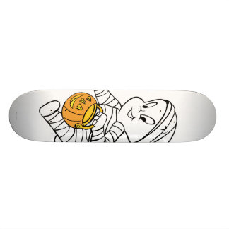 Casper in Mummy Costume Skateboard