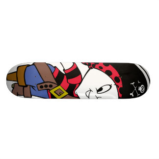 Casper in Pirate Costume Skateboard