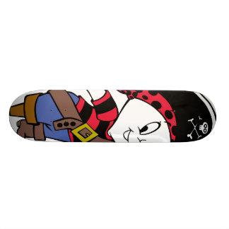Casper in Pirate Costume Skateboard