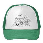 Casper in Present Trucker Hat