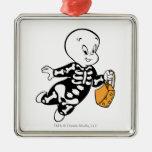Casper in Skeleton Costume Christmas Ornament