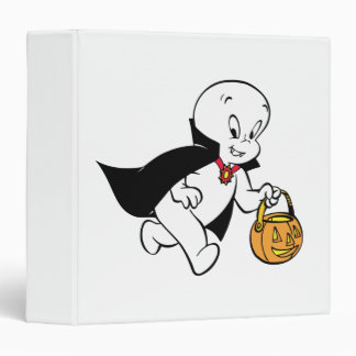 Casper in Vampire Costume Binder