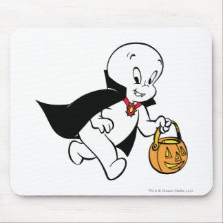 Casper in Vampire Costume Mouse Pad