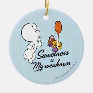 Casper Is My Weakness Christmas Ornaments