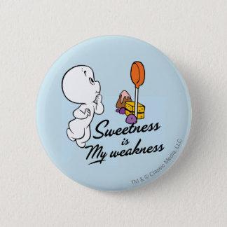 Casper Is My Weakness Pinback Button
