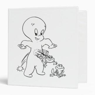Casper Leap Frog 3 Ring Binder