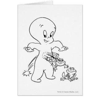 Casper Leap Frog Card