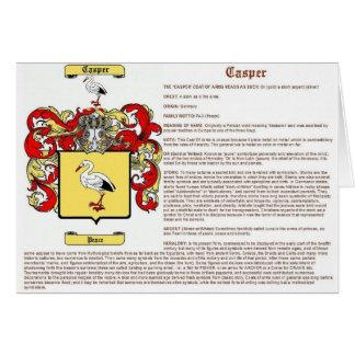 Casper (meaning) card