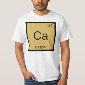 Casper Name Chemistry Element Periodic Table T-Shirt