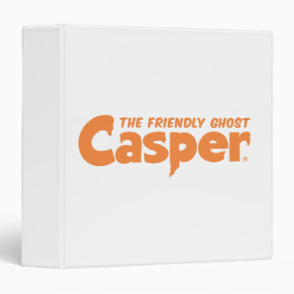 Casper Orange Logo 1 3 Ring Binder