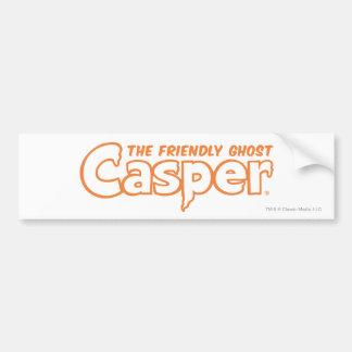 Casper Orange Logo 2 Bumper Sticker