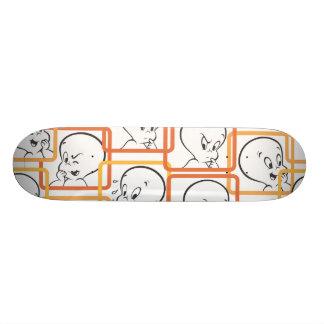 Casper Orange Squares Skateboard Deck