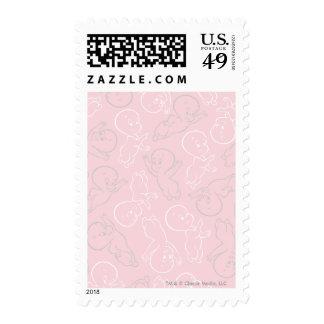 Casper Pattern Postage Stamp