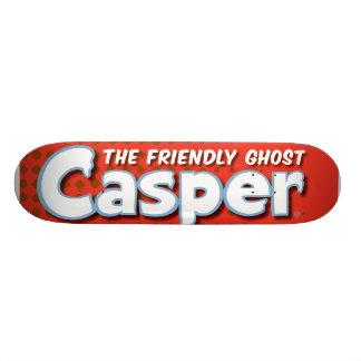 Casper Red Halftone Logo Skateboard