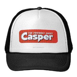 Casper Red Halftone Logo Trucker Hat
