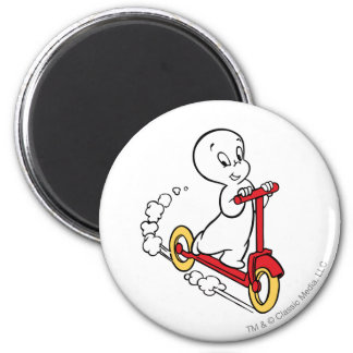 Casper Riding Scooter Magnet