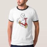 Casper Riding Scooter T Shirt