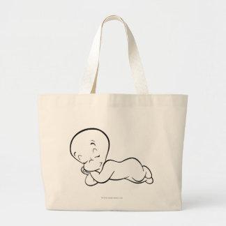 Casper Sleeping Jumbo Tote Bag