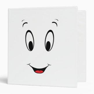 Casper Super Smiley Face 3 Ring Binders