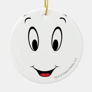 Casper Super Smiley Face Christmas Ornaments