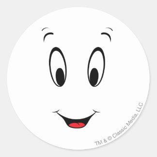 Casper Super Smiley Face Stickers