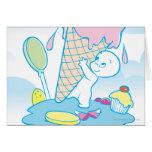 Casper Sweet Ice Cream Greeting Card