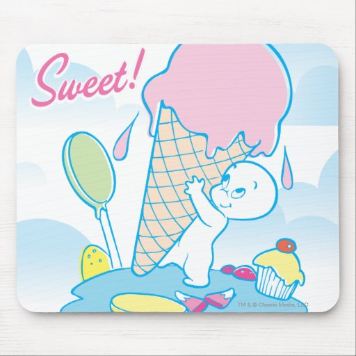 Casper Sweet Ice Cream Mouse Pads